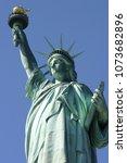 statue of liberty | Shutterstock . vector #1073682896