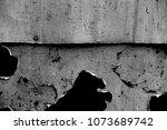 metal texture with scratches...   Shutterstock . vector #1073689742