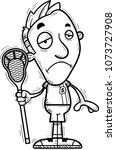 a cartoon illustration of a man ... | Shutterstock .eps vector #1073727908
