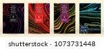 digital marble cover design for ... | Shutterstock .eps vector #1073731448