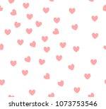 seamless geometric pattern.... | Shutterstock .eps vector #1073753546