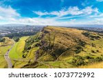cityscape of edinburgh from... | Shutterstock . vector #1073772992