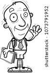 a cartoon illustration of a... | Shutterstock .eps vector #1073791952