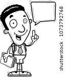 a cartoon illustration of a...   Shutterstock .eps vector #1073792768