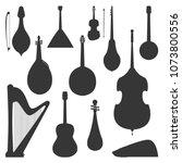 stringed dreamed musical... | Shutterstock .eps vector #1073800556