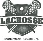 badge,classic,college,crest,crossed,distressed,high school,icon,lacrosse,lacrosse sticks,lax,league,rubber stamp,sport,vintage