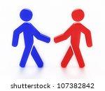 digital illustration of... | Shutterstock . vector #107382842