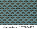 turquoise two layer knitwear... | Shutterstock . vector #1073836472