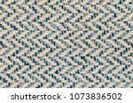 blue twill woven multicoloured... | Shutterstock . vector #1073836502
