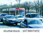st. petersburg  russia   april  ... | Shutterstock . vector #1073847692