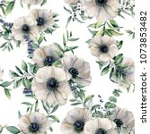 watercolor seamless pattern... | Shutterstock . vector #1073853482