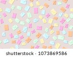 seamless pattern of the... | Shutterstock .eps vector #1073869586