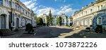 lviv old architecture cityscape ... | Shutterstock . vector #1073872226