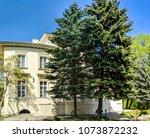 lviv old architecture cityscape ... | Shutterstock . vector #1073872232