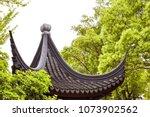 chinese architecture  beautiful ... | Shutterstock . vector #1073902562