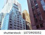 architecture in new york | Shutterstock . vector #1073905052