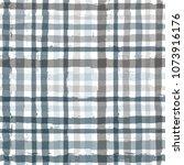 paint stripe plaid seamless... | Shutterstock .eps vector #1073916176