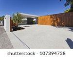 modern australian house front... | Shutterstock . vector #107394728