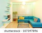 interior design in a new house. ... | Shutterstock . vector #107397896