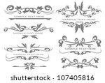 design elements for page | Shutterstock .eps vector #107405816