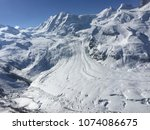 glacier breezing with clear sky   Shutterstock . vector #1074086675