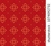 seamless vectors pattern.... | Shutterstock .eps vector #1074092732