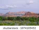 zions national park  utah  usa   Shutterstock . vector #1074105452