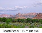 zions national park  utah  usa   Shutterstock . vector #1074105458