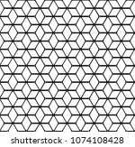 geometric background with... | Shutterstock .eps vector #1074108428