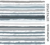 paint stripe seamless pattern.... | Shutterstock .eps vector #1074119102