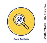 analysis related offset style... | Shutterstock .eps vector #1074127262