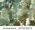 green color rough background.... | Shutterstock . vector #1074210272
