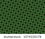 a hand drawing pattern made of... | Shutterstock . vector #1074220178