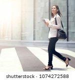 asian women are beautiful... | Shutterstock . vector #1074272588