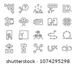 ux icon set. included the icons ...