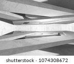 dark basement empty room...   Shutterstock . vector #1074308672