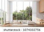 modern contemporary high... | Shutterstock . vector #1074332756