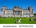 germany  berlin  people... | Shutterstock . vector #1074341132