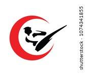 martial art logo | Shutterstock .eps vector #1074341855