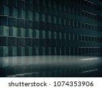 product showcase spotlight... | Shutterstock . vector #1074353906
