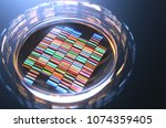 petri dishes with samples for... | Shutterstock . vector #1074359405