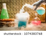 University Chemical Lab During...