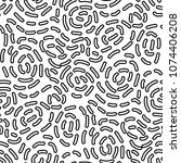 seamless abstract pattern with...   Shutterstock .eps vector #1074406208