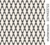 vector mesh seamless pattern.... | Shutterstock .eps vector #1074423722
