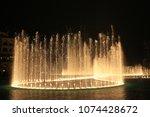 dubai  united arab emirates  ... | Shutterstock . vector #1074428672