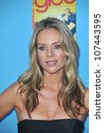 """Small photo of LOS ANGELES, CA - SEPTEMBER 7, 2010: """"Glee"""" star Jessalyn Gilsig at the season two premiere screening & party for """"Glee"""" at Paramount Studios, Hollywood."""