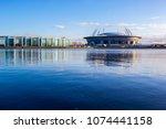 saint petersburg  russia  ... | Shutterstock . vector #1074441158