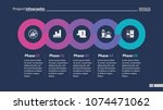 sequence of five phases... | Shutterstock .eps vector #1074471062