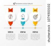 infographic design template.... | Shutterstock .eps vector #1074503102