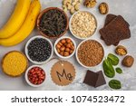 healthy food nutrition dieting... | Shutterstock . vector #1074523472